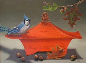 Red-Covered-Box-with-Bluejay